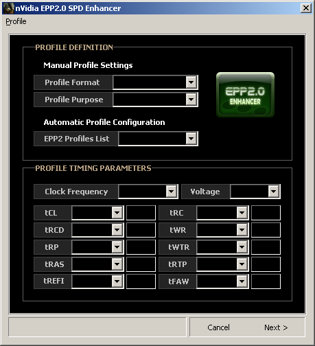 nVidia EPP2.0 SPD Enhancer